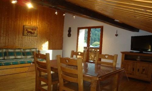 Location au ski Appartement 2 pièces 4 personnes - Chalet Estelann - Champagny-en-Vanoise - Salle à manger