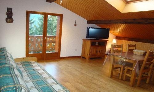 Location au ski Appartement 2 pièces 4 personnes - Chalet Estelann - Champagny-en-Vanoise - Séjour