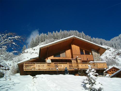 Partir au ski Chalet Grand Arbet