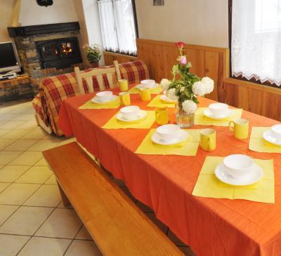 Location au ski Chalet triplex 5 pièces 8 personnes - Chalet Joly - Champagny-en-Vanoise - Séjour