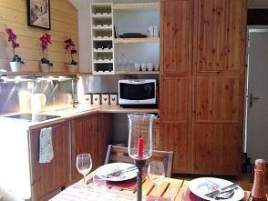 Location au ski Appartement 2 pièces mezzanine 6 personnes (10) - Chalet Le Dahu - Champagny-en-Vanoise - Cuisine