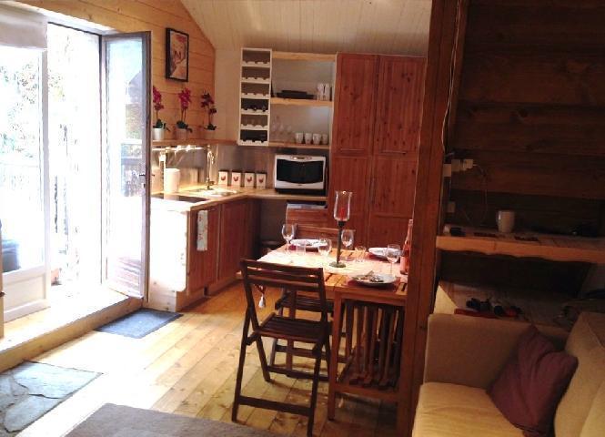 Location au ski Appartement 2 pièces mezzanine 6 personnes (10) - Chalet Le Dahu - Champagny-en-Vanoise - Porte-fenêtre donnant sur balcon