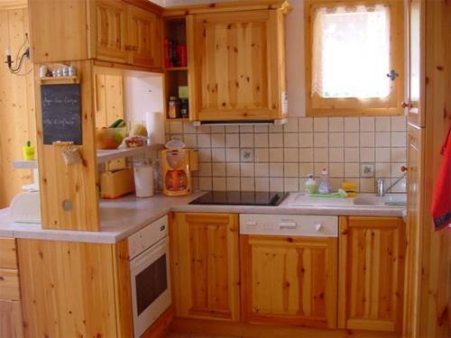 Location au ski Appartement 6 pièces 10 personnes - Chalet Les Soldanelles - Champagny-en-Vanoise - Kitchenette