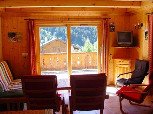Location au ski Appartement 6 pièces 10 personnes - Chalet Les Soldanelles - Champagny-en-Vanoise - Séjour