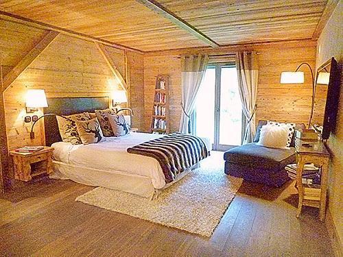 Location au ski Chalet triplex 6 pièces 10 personnes - Chalet Pearl - Champagny-en-Vanoise - Chambre