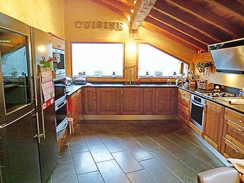 Location au ski Chalet triplex 6 pièces 10 personnes - Chalet Pearl - Champagny-en-Vanoise - Cuisine