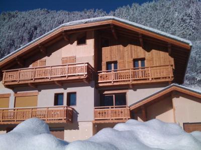 Location au ski Chalet quadriplex 5 pièces 8 personnes - Chalet Rosa Villosa - Champagny-en-Vanoise - Extérieur hiver