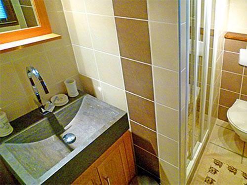 Location au ski Chalet duplex 3 pièces 6 personnes - Chalet Tavel - Champagny-en-Vanoise - Salle d'eau