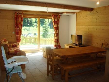 Location au ski Appartement 4 pièces 8-10 personnes - Chalets De La Chiserette - Champagny-en-Vanoise - Séjour