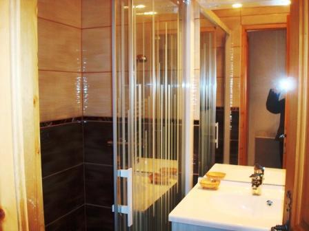 Location au ski Appartement 3 pièces mezzanine 6 personnes - Residence Le Chargalon - Champagny-en-Vanoise - Salle d'eau
