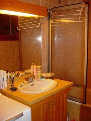 Location au ski Appartement 3 pièces mezzanine 6 personnes - Residence Le Chargalon - Champagny-en-Vanoise - Salle de bains