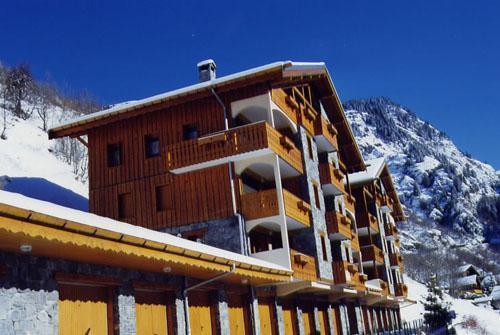 Location au ski Residence Le Chargalon - Champagny-en-Vanoise - Extérieur hiver