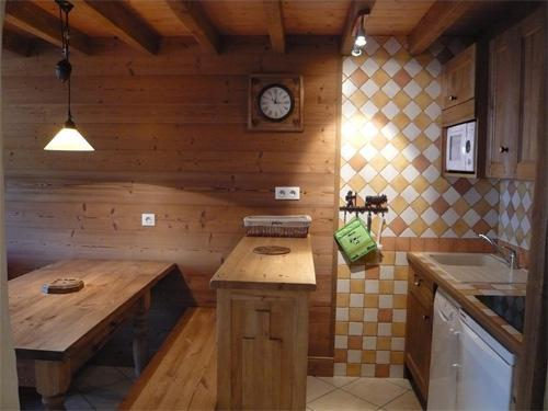 Location au ski Appartement 3 pièces 5 personnes - Residence Les Edelweiss - Champagny-en-Vanoise - Chambre