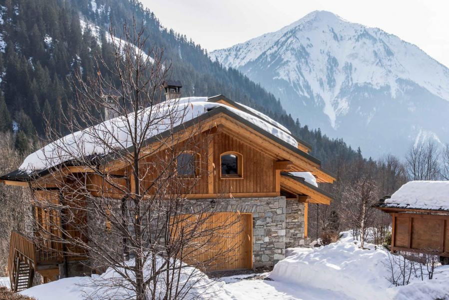 Location au ski Chalet Alideale - Champagny-en-Vanoise - Extérieur hiver
