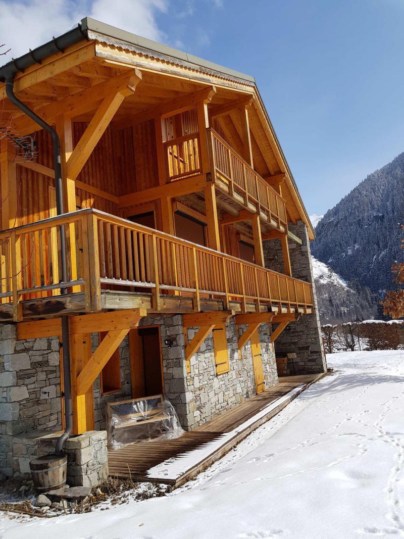 Holiday in mountain resort Chalet Alideale - Champagny-en-Vanoise - Winter outside