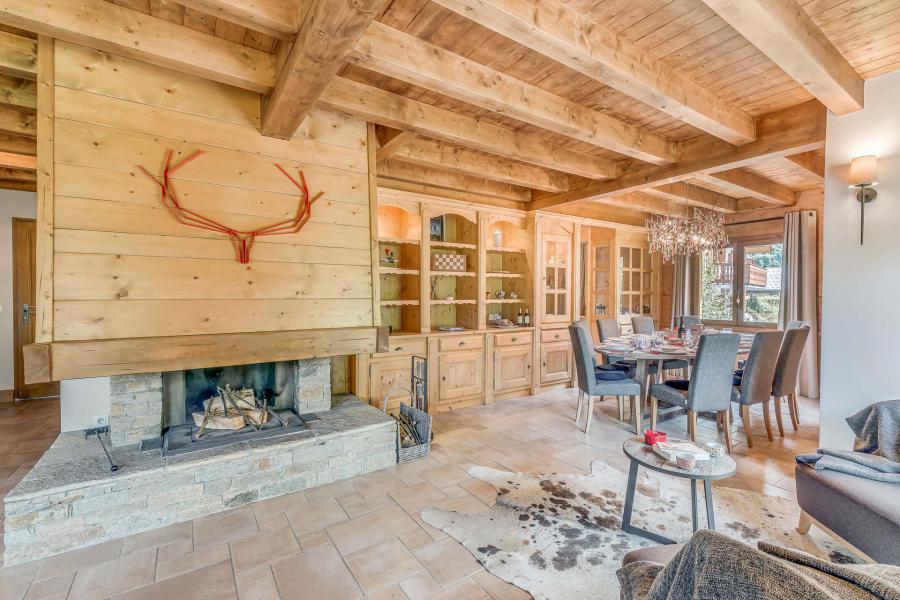 Location au ski Chalet triplex 7 pièces 10-12 personnes - Chalet Alideale - Champagny-en-Vanoise - Cheminée