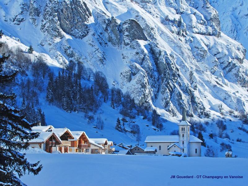 Vacances en montagne Chalet Bucher - Champagny-en-Vanoise - Extérieur hiver