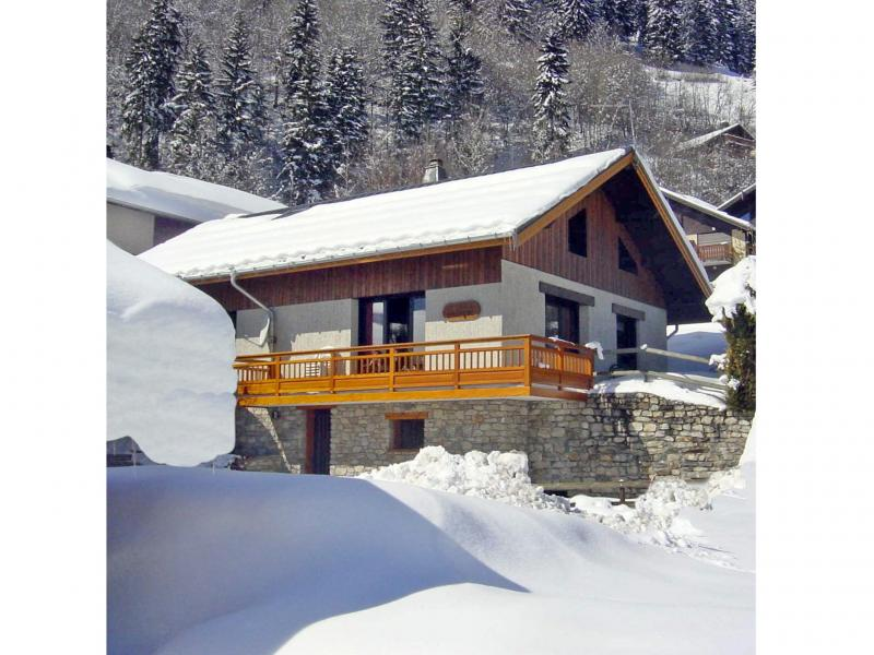 Holiday in mountain resort Chalet Carella - Champagny-en-Vanoise - Winter outside