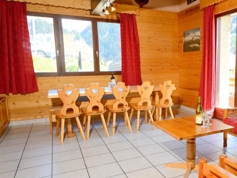 Location au ski Chalet Carella - Champagny-en-Vanoise - Salle à manger