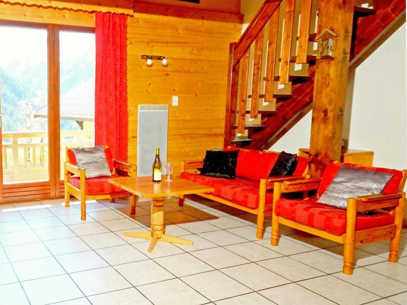 Location au ski Chalet Carella - Champagny-en-Vanoise - Séjour