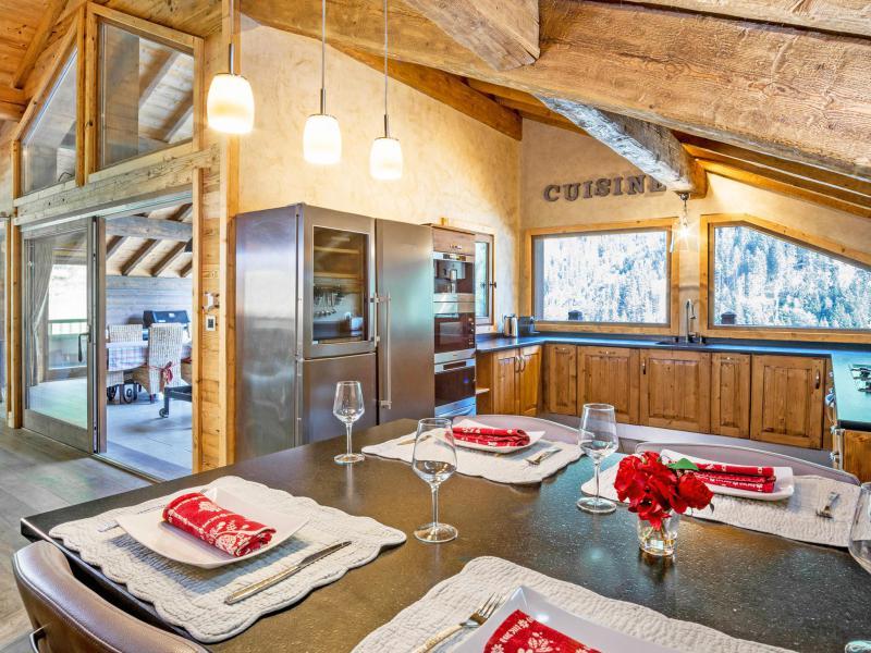 Аренда на лыжном курорте Chalet Champagny Cpg01 - Champagny-en-Vanoise - Кухня
