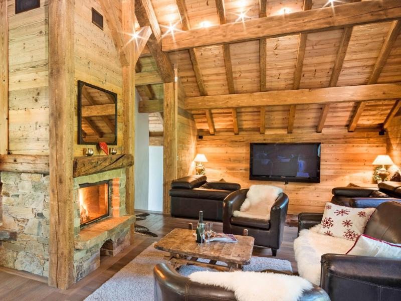 Аренда на лыжном курорте Chalet Champagny Cpg01 - Champagny-en-Vanoise - Салон