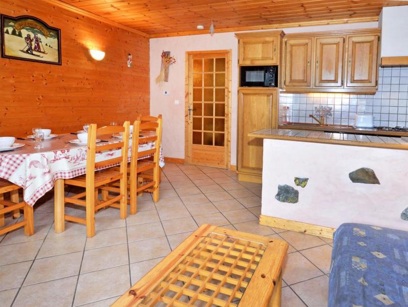 Location au ski Chalet Côte Arbet - Champagny-en-Vanoise - Salle à manger
