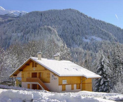 Vacances en montagne Chalet Cristal - Champagny-en-Vanoise - Extérieur hiver
