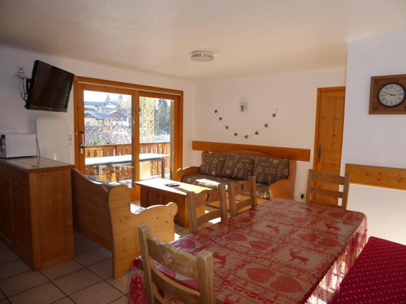 Location au ski Appartement 4 pièces 8 personnes (1) - Chalet Cristal - Champagny-en-Vanoise - Séjour