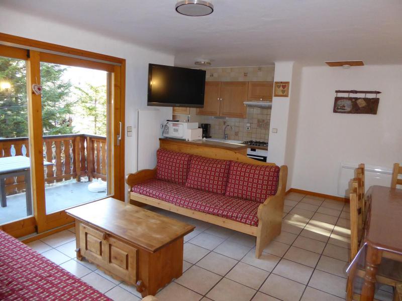Location au ski Appartement 4 pièces 8 personnes (2) - Chalet Cristal - Champagny-en-Vanoise - Canapé-gigogne
