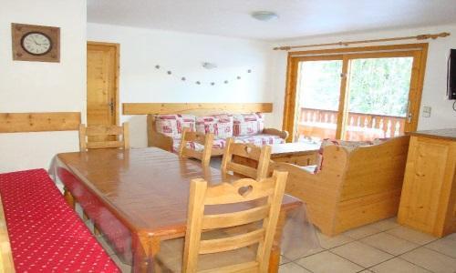 Location au ski Appartement 4 pièces 8 personnes - Chalet Cristal - Champagny-en-Vanoise - Séjour