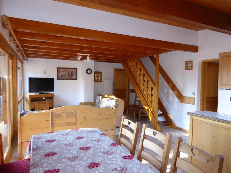 Location au ski Appartement duplex 5 pièces 10 personnes (4) - Chalet Cristal - Champagny-en-Vanoise - Séjour