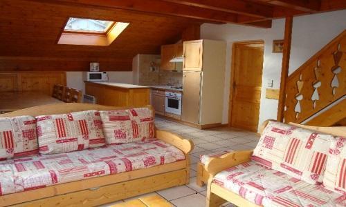 Location au ski Appartement duplex 5 pièces 10 personnes - Chalet Cristal - Champagny-en-Vanoise - Banquette