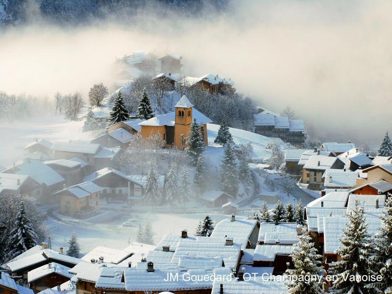 Vacances en montagne Chalet de la Côte - Champagny-en-Vanoise - Extérieur hiver