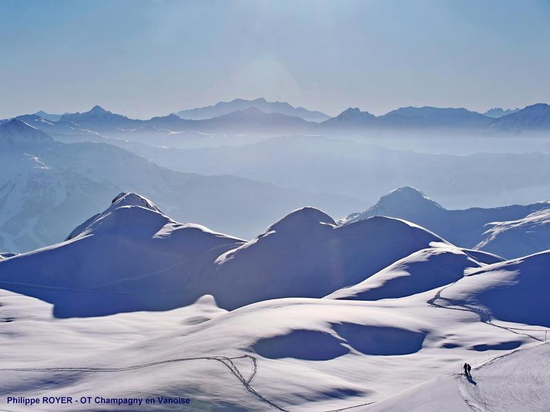 Vacances en montagne Chalet Diamant - Champagny-en-Vanoise - Extérieur hiver