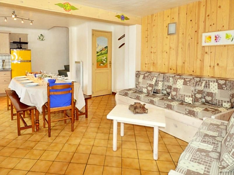 Rent in ski resort Chalet Diamant - Champagny-en-Vanoise - Dining area