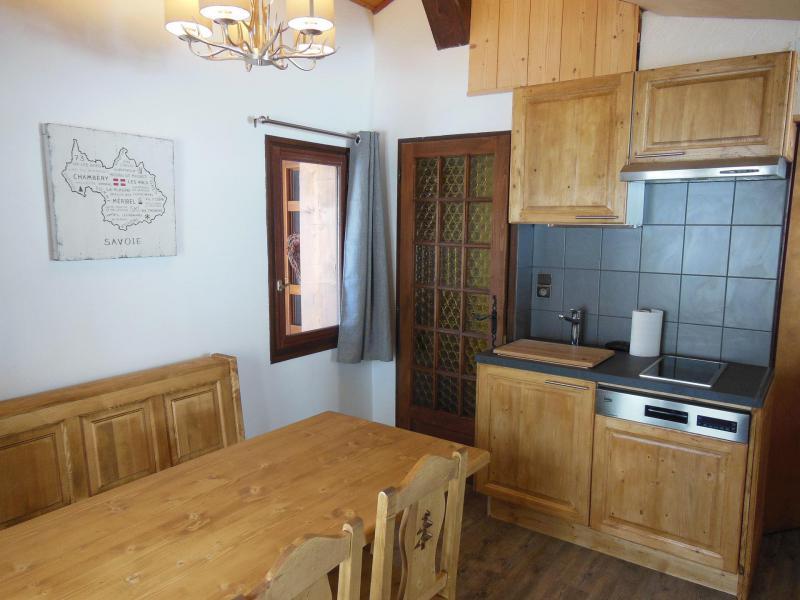 Skiverleih 2-Zimmer-Appartment für 4 Personen (021CL) - Chalet Fleur de Neige - Champagny-en-Vanoise - Kochnische