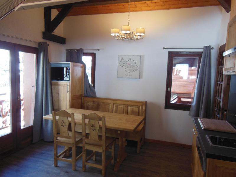 Skiverleih 2-Zimmer-Appartment für 4 Personen (021CL) - Chalet Fleur de Neige - Champagny-en-Vanoise - Tisch