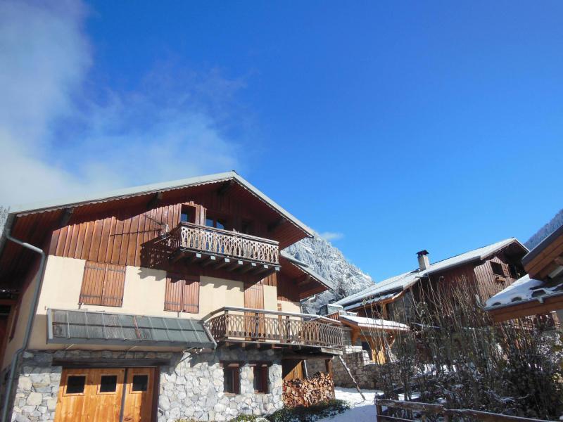 Skiverleih Chalet Fleur de Neige - Champagny-en-Vanoise - Draußen im Winter