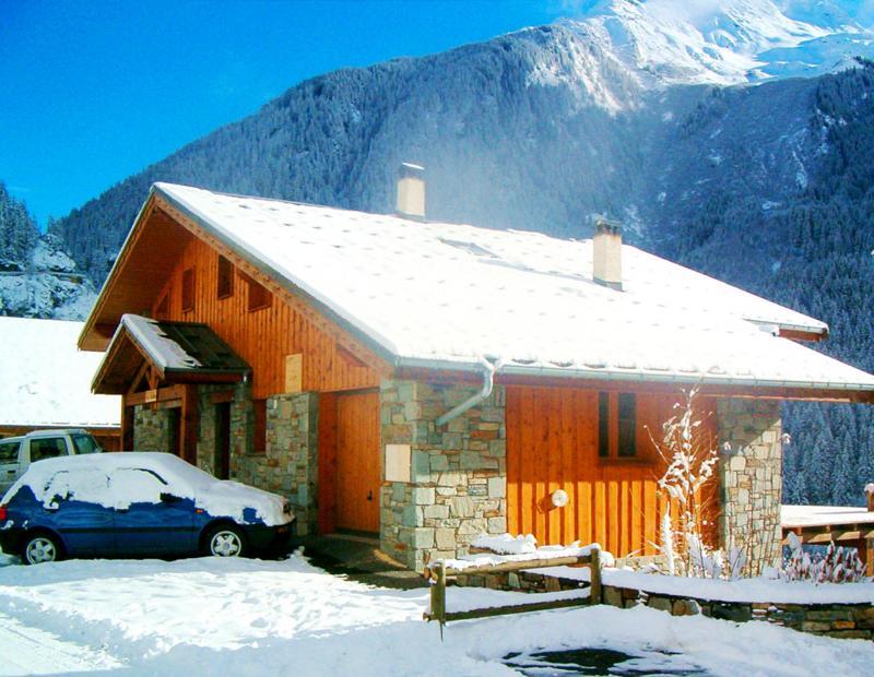 Location au ski Chalet Grand Arbet - Champagny-en-Vanoise - Extérieur hiver