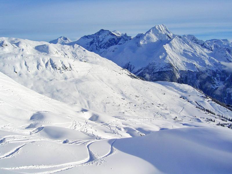 Vacances en montagne Chalet Grand Arbet - Champagny-en-Vanoise - Extérieur hiver