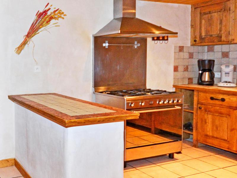 Alquiler al esquí Chalet Grand Arbet - Champagny-en-Vanoise - Cocina abierta