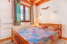 Location au ski Chalet Grand Arbet - Champagny-en-Vanoise - Lit double