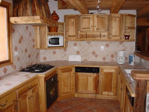 Location au ski Appartement 12 personnes - Chalet l'Edelweiss - Champagny-en-Vanoise - Cuisine