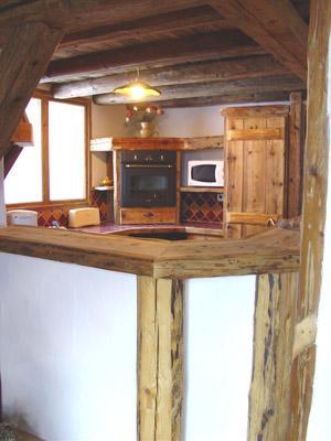Location au ski Appartement 8 personnes - Chalet l'Edelweiss - Champagny-en-Vanoise - Cuisine