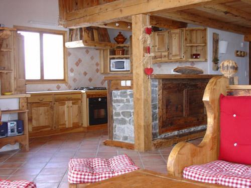 Location au ski Chalet triplex 11 pièces 20 personnes - Chalet l'Edelweiss - Champagny-en-Vanoise - Cuisine