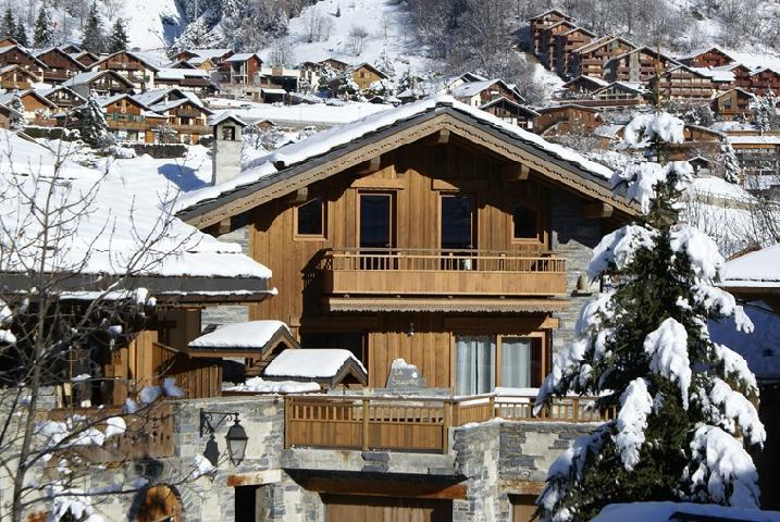 Rent in ski resort Chalet la Sauvire - Champagny-en-Vanoise - Winter outside