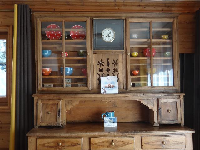 Skiverleih Doppelhaus Holzhütte 5 Zimmer 8-10 Personnen - Chalet la Sauvire - Champagny-en-Vanoise - Schrank