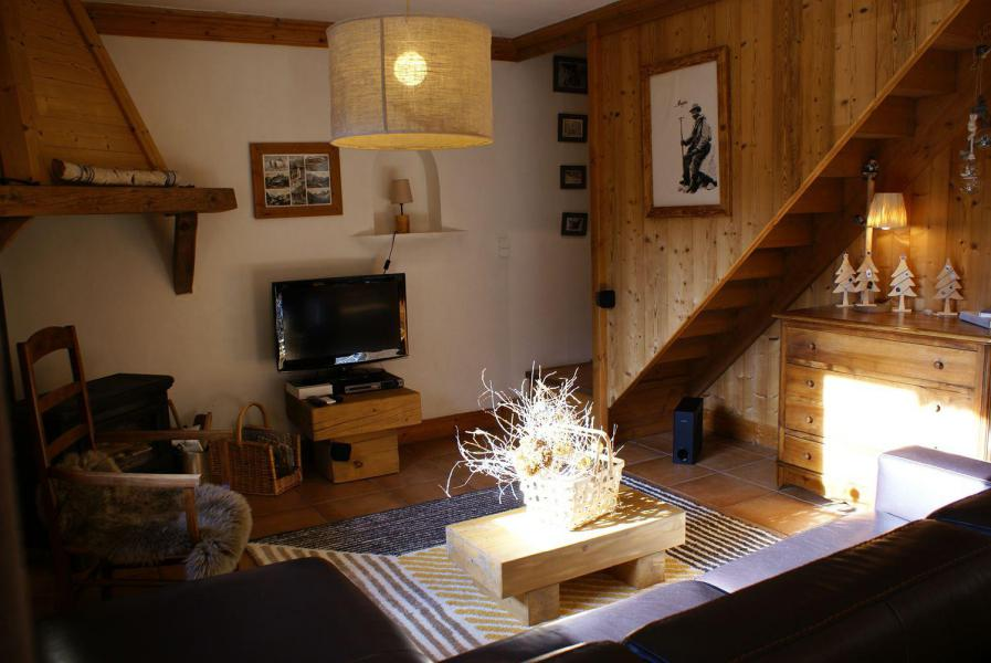 Rent in ski resort Chalet la Sauvire - Champagny-en-Vanoise - Living area