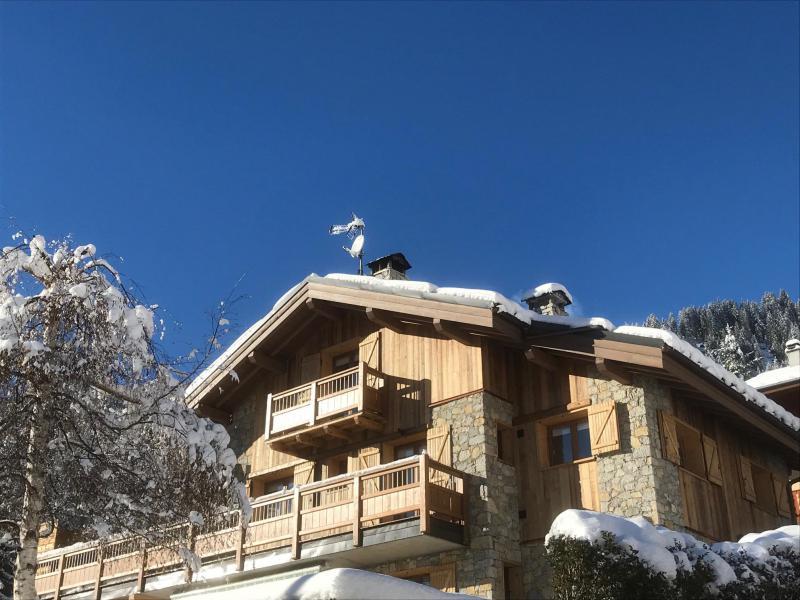 Location au ski Chalet le 1244 - Champagny-en-Vanoise - Extérieur hiver